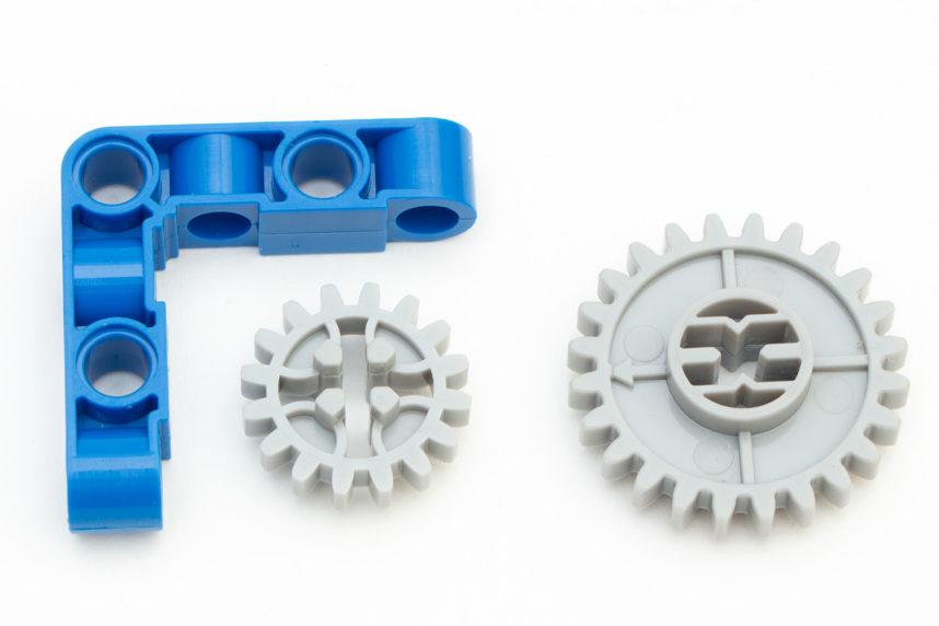 Manche Teile sehen anders aus, sind aber vollkommen zu Lego kompatibel