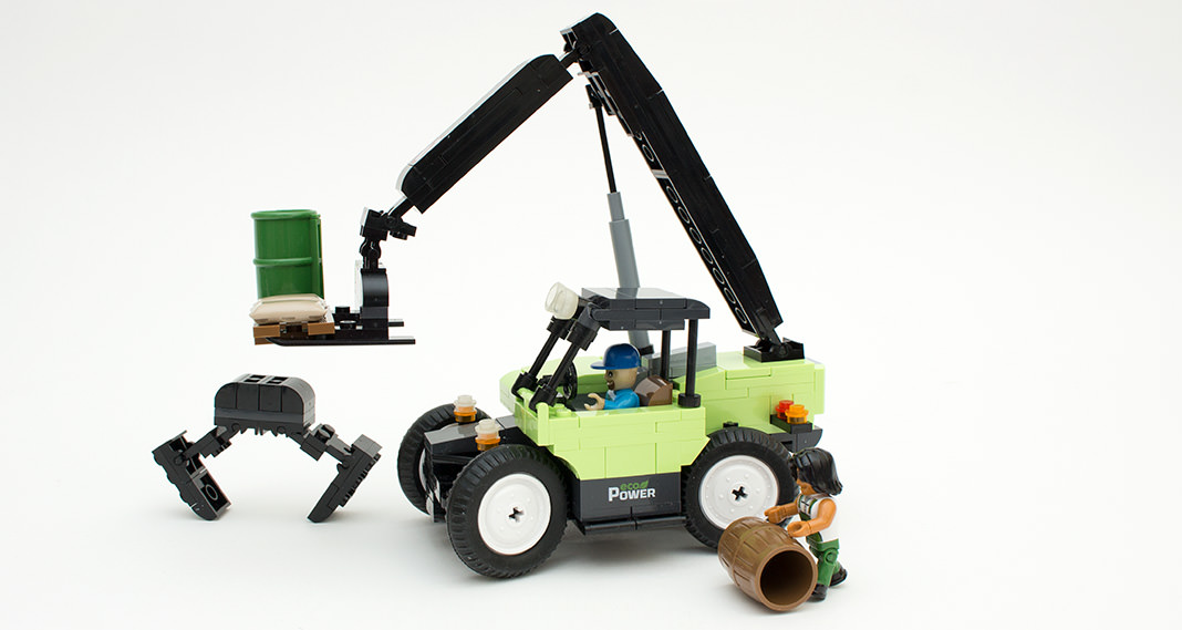 Cobi 1865 - Long-Arm Forklift im Review