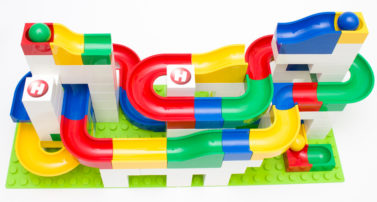 Hubelino Kugelbahn Basis im Review