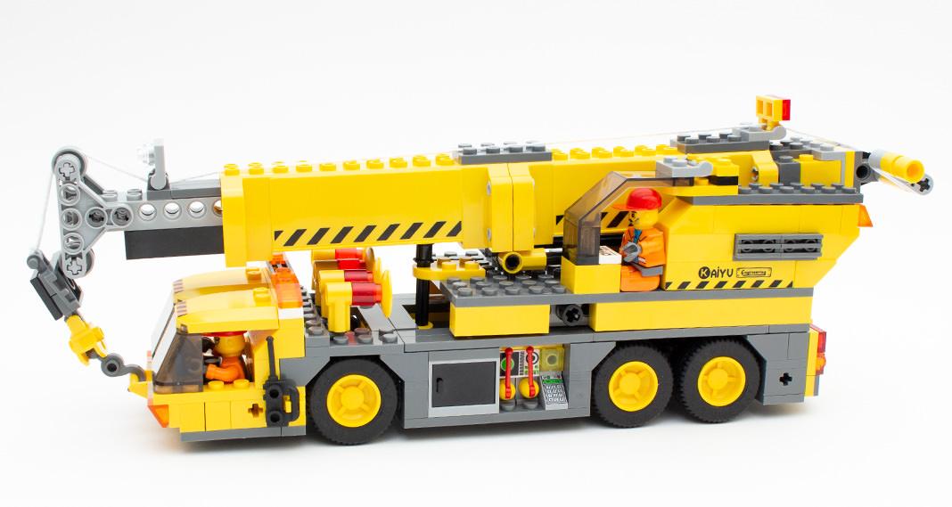 Blocki KB 8045 - Kranwagen im Review