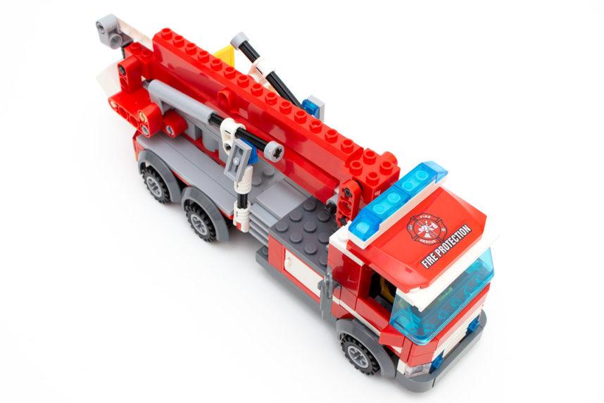 Der fertige Feuerwehrwagen KB 8053 von Blocki