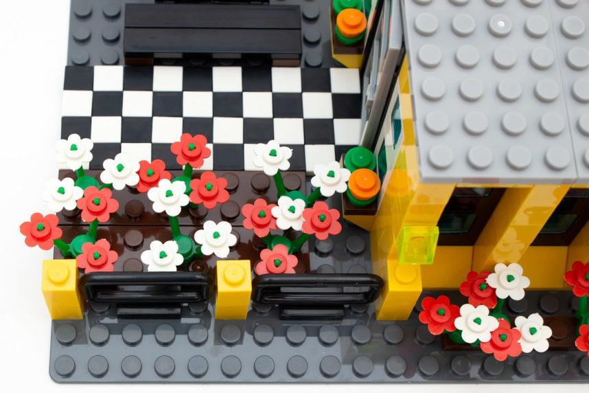 Auch die Blumen verlangen Kindern einiges ab