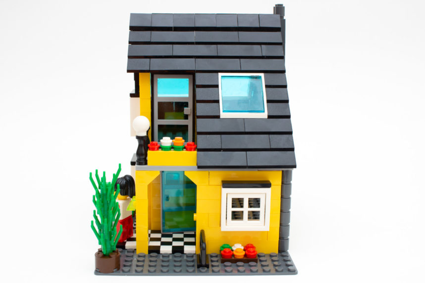 Das Dach stellt die letzte Hürde dar