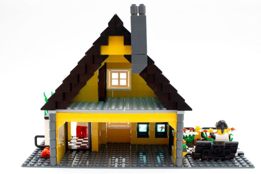 Die Villa ist eher als Rohling für die eigene Inneneinrichtung zu sehen