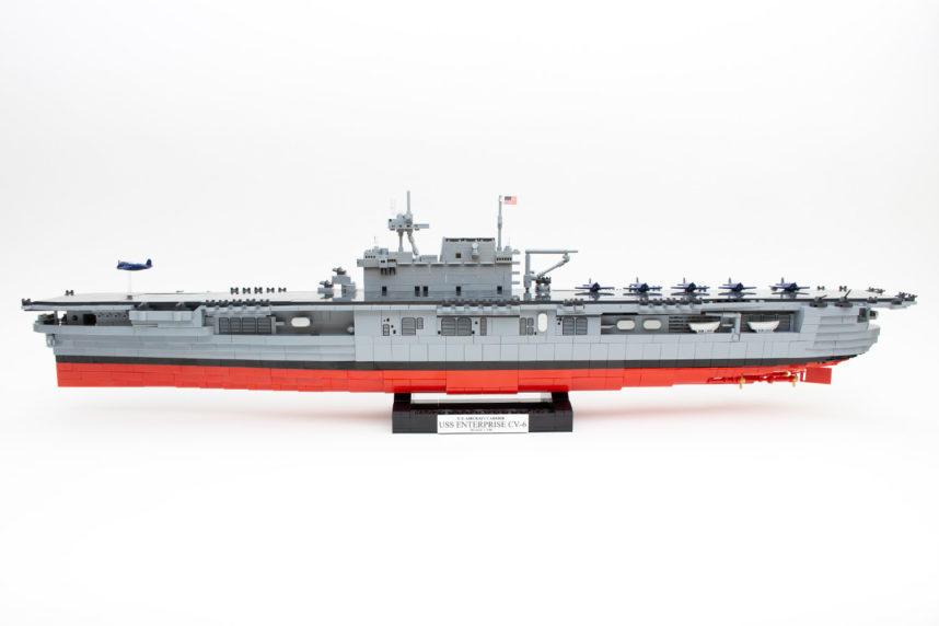 Die Enterprise (CV-6) von Cobi