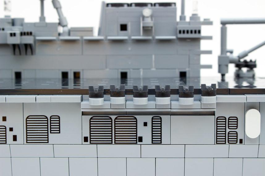 Die kleinen Flakgeschütze der Enterprise (CV-6)