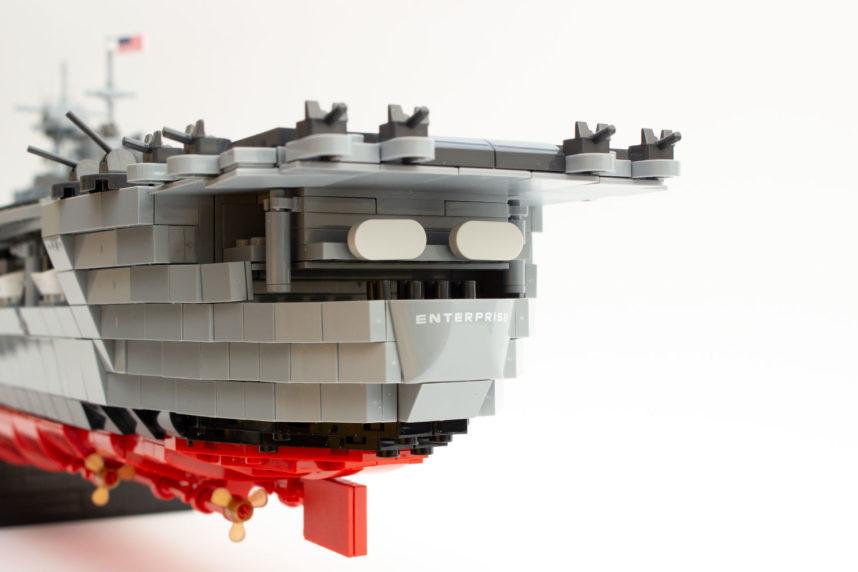 Das Heck der Enterprise (CV-6)