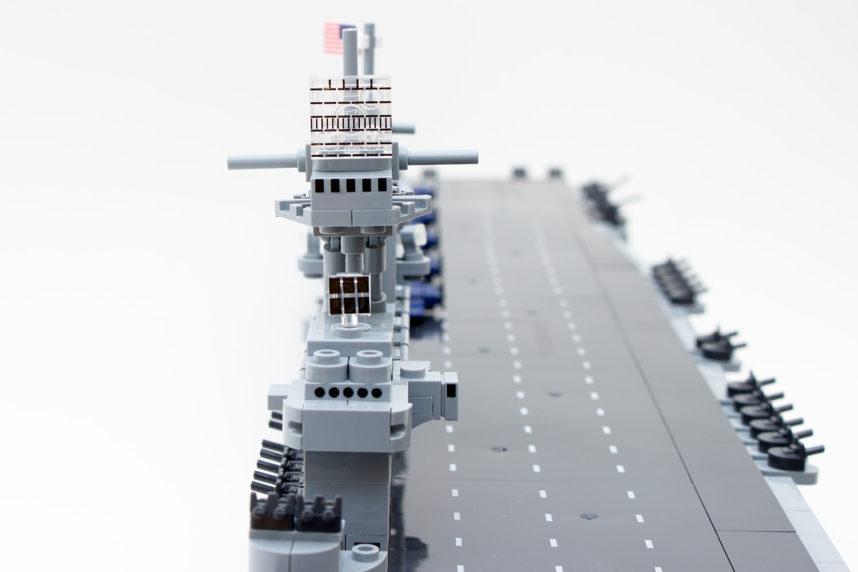 Die Kommandobrücke der Enterprise (CV-6)