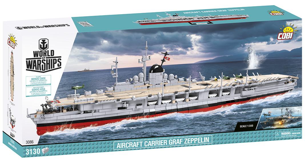 Cobi stellt Graf Zeppelin (3086) offiziell vor
