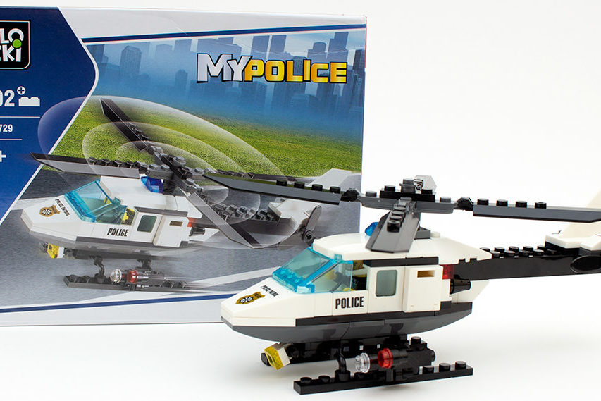 Blocki KB 6729 - My Police Hubschrauber im Review