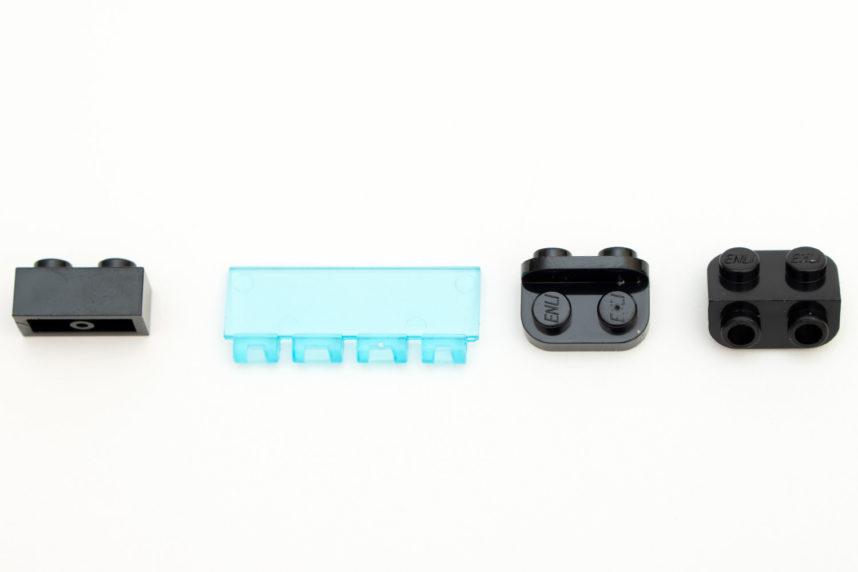 Einige Teile, die es bei Lego so nicht gibt