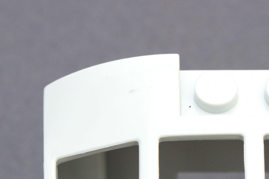Eine kleine Verschmutzung an der Cockpit-Abdeckung trübt das Erscheinungsbild ein wenig