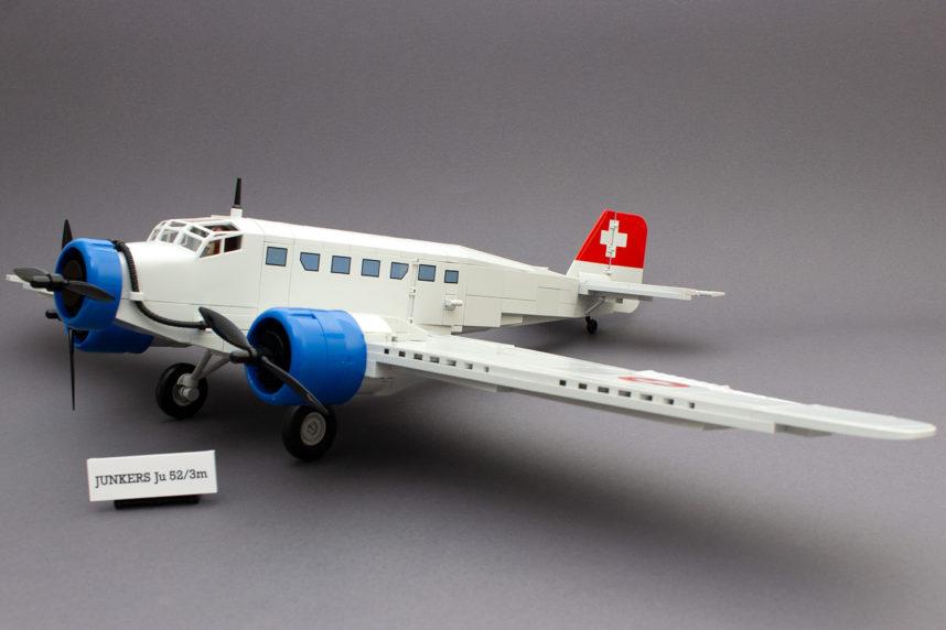 Die fertige Ju 52/3m - imposant, aber mit einigen Schwächen