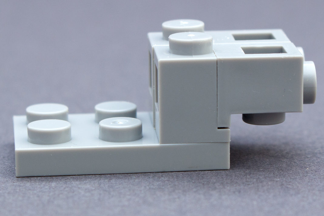 Das Modell führt interessante Bautechniken