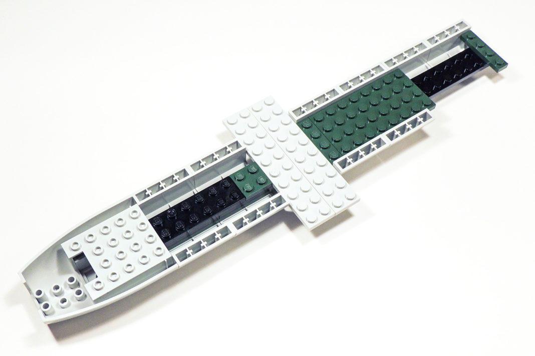 Konservative Bauweise bei Cobi - Formteile und Plates.