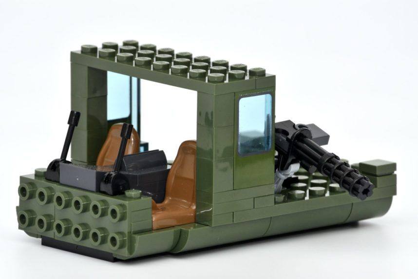 Das Cockpit bietet Platz für 2 Minifiguren
