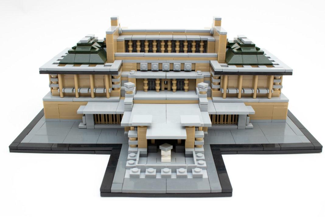 Das fertige Imperial Hotel Of Tokyo von Wange ist ein imposantes Modell