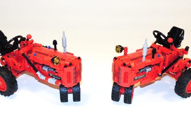 Winner 1281 / 7070 – Kleiner roter Traktor im Review