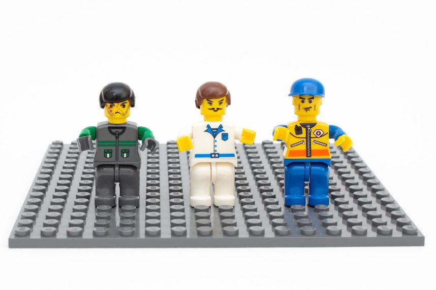Die Figuren wirken nicht so niedlich wie die Variante von Lego, sind aber in einer guten Qualität gefertigt