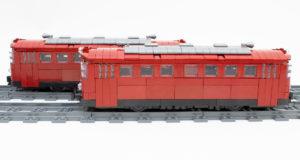 Bluebrixx 101297 - Schienenbus im Review