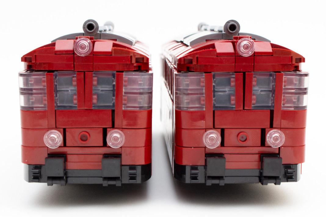 Kein Witz - Der Schienenbus sieht am Ende wirklich so aus