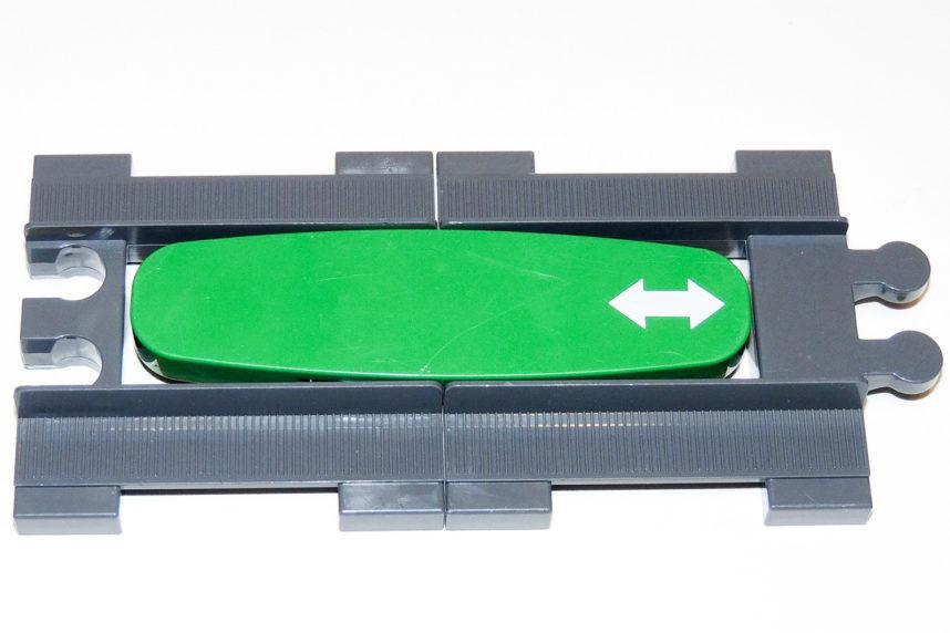 Duplo-Fahrtrichtungswechsler mit zwei kurzen Dubie-Geraden