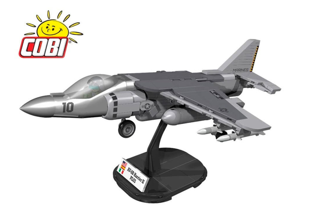 Der AV-8B Harrier II Plus (5809) von Cobi soll ab Juni 2021 verfügbar sein