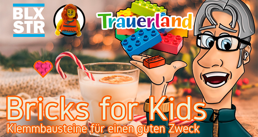 Spendenaktion Bricks for Kids am 6.12.2020 Live auf YouTube
