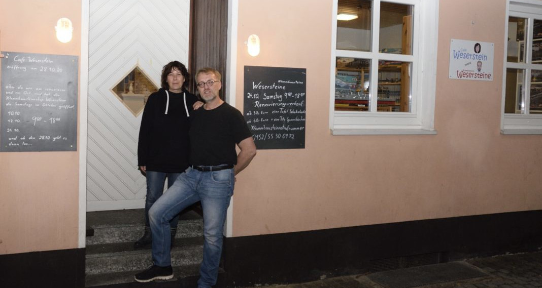Auf ein paar Steine mit... Alexandra und Maik von Klemmbausteine Wesersteine in Hameln