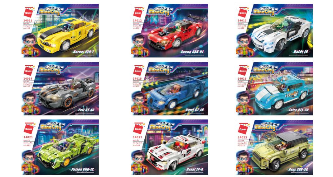 Qman Mine City Racing Cars – Erste Informationen zur zweiten Serie