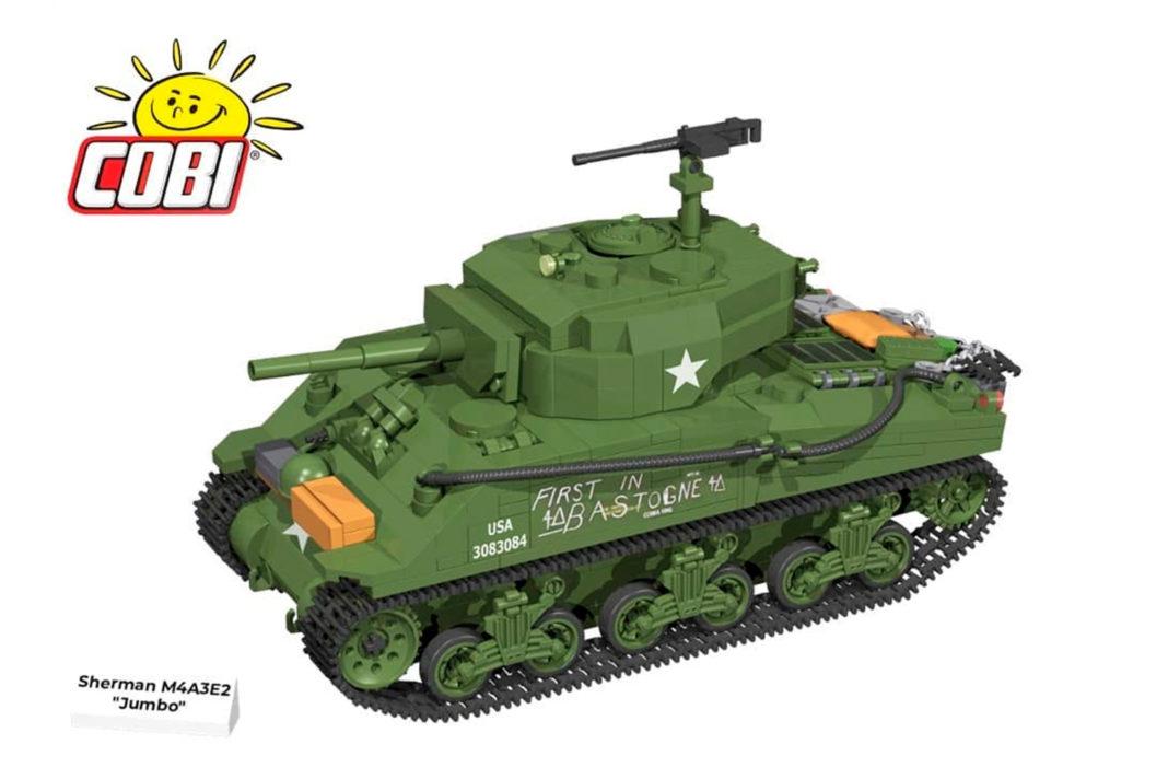 "Der Sherman M4A3E2 ""Jumbo"" (2550) - ab Juni 2021 erhältlich"