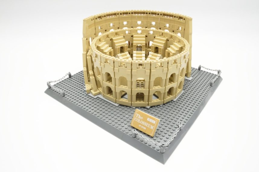 Das fertige Modell - eine gute Verkörperung der Idee des Kolosseums