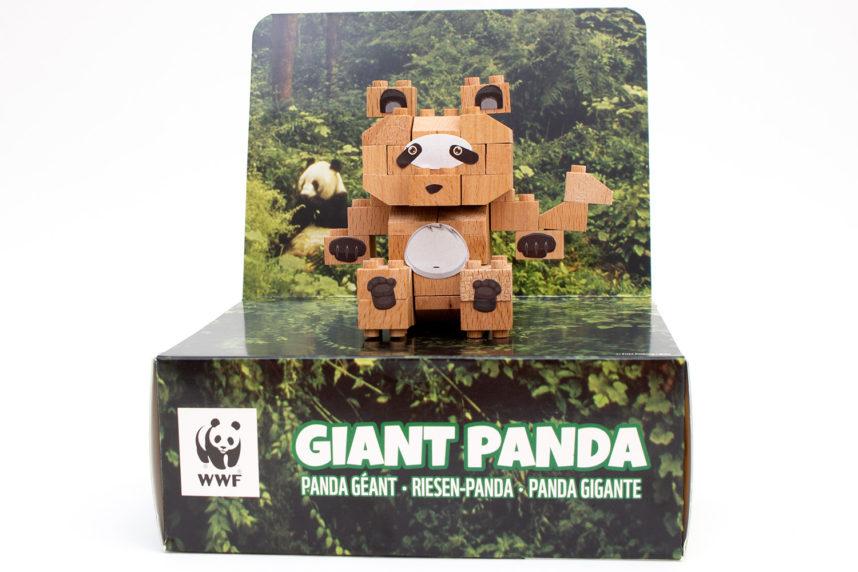 Der fertige Riesenpanda von FabBrix
