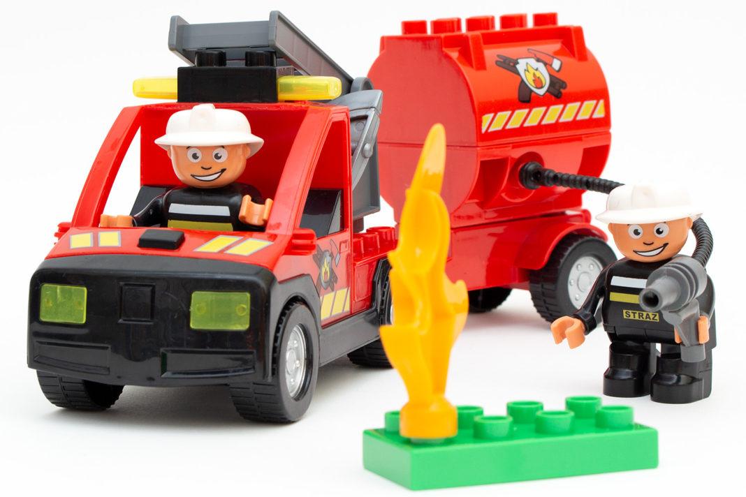 Das Feuerwehrauto von Mubi