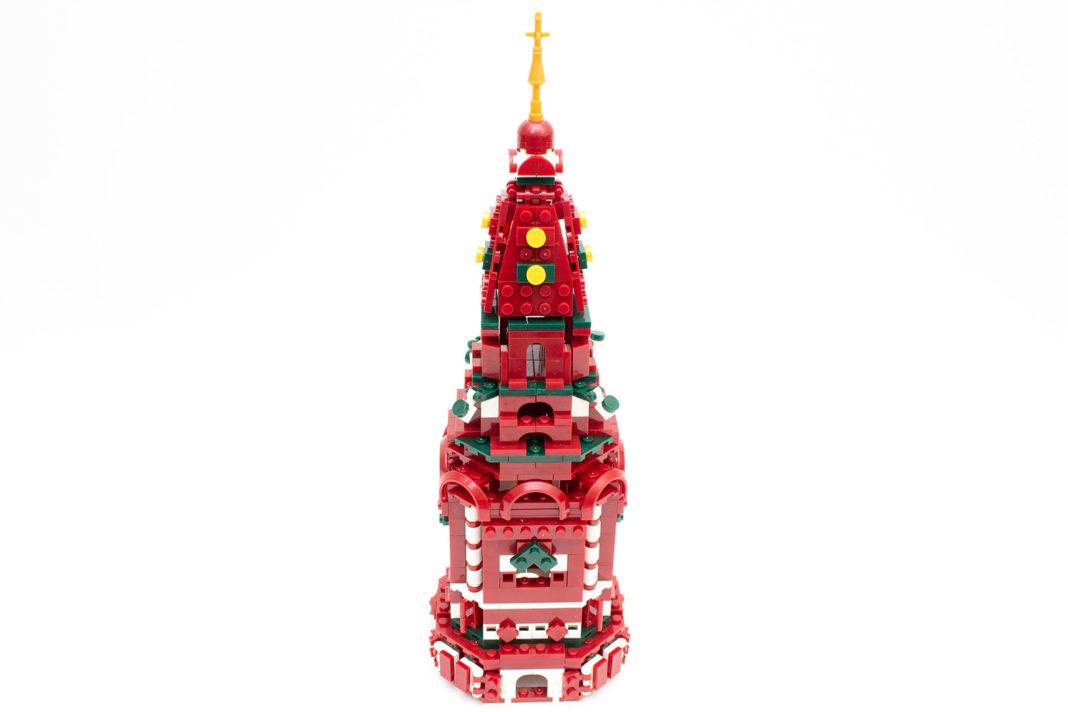 Für den großen Turm sollten rund 2 Stunden Bauzeit veranschlagt werden
