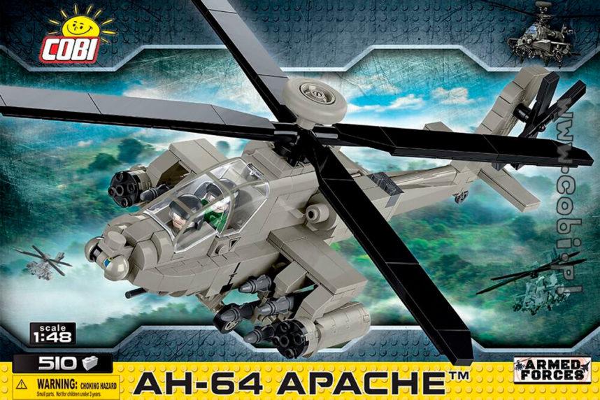Der lang erwartete AH-64 Apache ist endlich erhältlich (© Cobi)