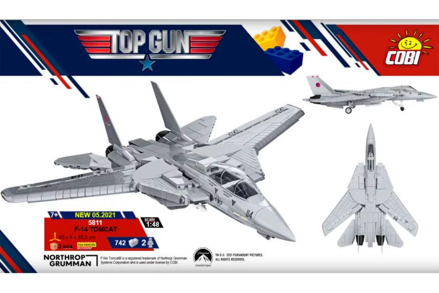 Wird die F-14 Tomcat von Cobi ähnlich wirken wie das Original? (© Cobi)