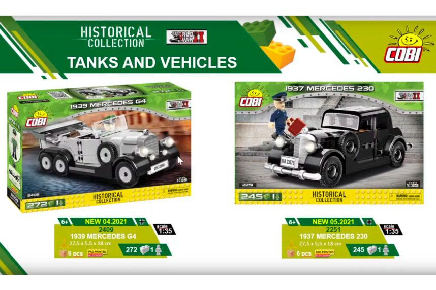 Mit den Militär-Dienstwagen wird ebenfalls eine neue Kategorie eingeführt (© Cobi)