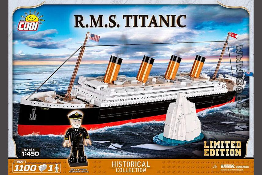 Die neue (mittlere) R.M.S. Titanic als limitierte Version (© Cobi)
