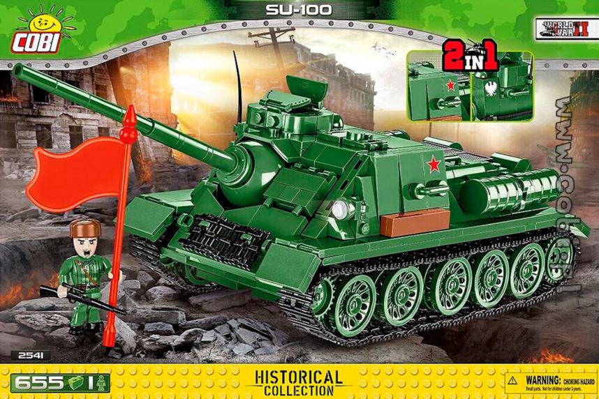 Der SU-100 ist bereits erhältlich (© Cobi)