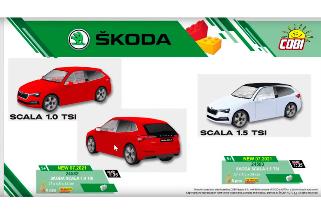 Auch von Skoda gibt es neues zu zeigen (© Cobi)