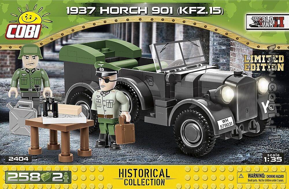 Horch 901 mit limitierter Figur von Claus von Stauffenberg