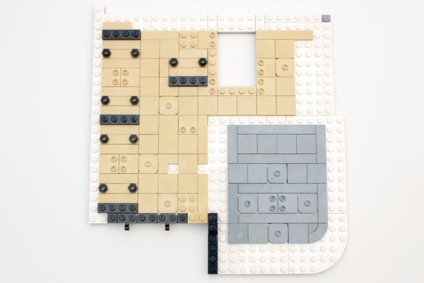 Die Grundlage für die erste Etage