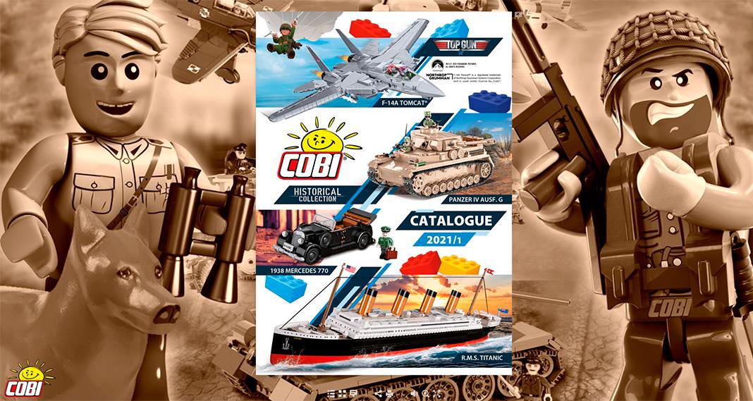 Cobi-Katalog Frühjahr 2021 endlich erschienen