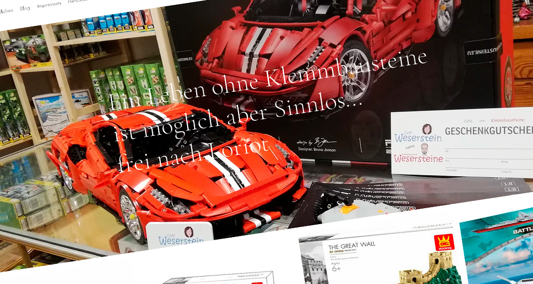 Wesersteine jetzt auch mit Online-Shop