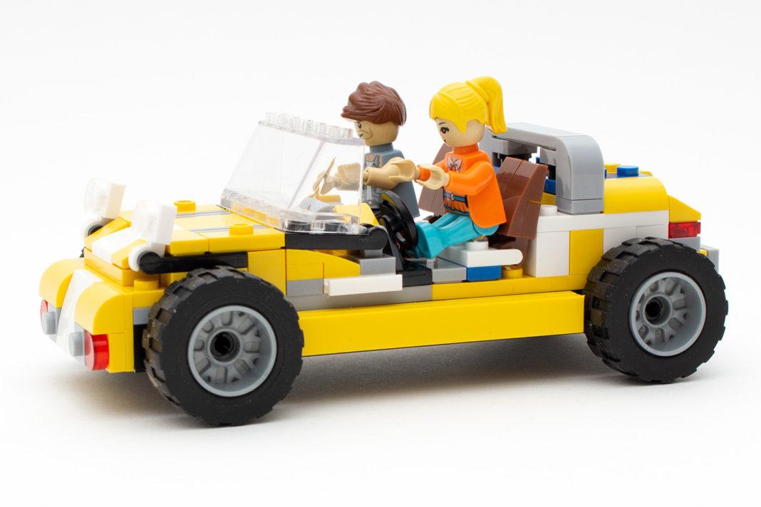 Der Sportwagen verdeutlicht das Problem mit den Spielfiguren