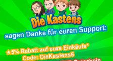 """Bausteinecke und """"Die Kastens"""" kooperieren"""