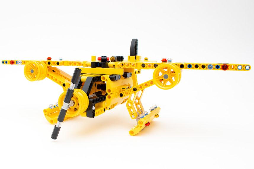 Das fertige Wasserflugzeug