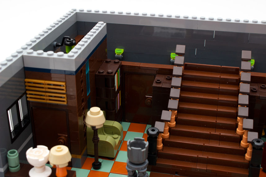 Das Erdgeschoss beherbergt bereits viele Einrichtungsgegenstände