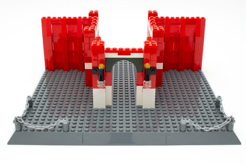 Noch besteht der Bau aus verschiedenen Segmenten